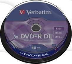 Dvd-R DL Verbatim 8.5Gb 4X Dual Layer