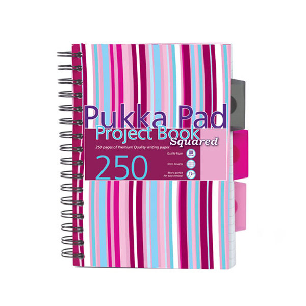 Pukka Pad Project Book Stripes