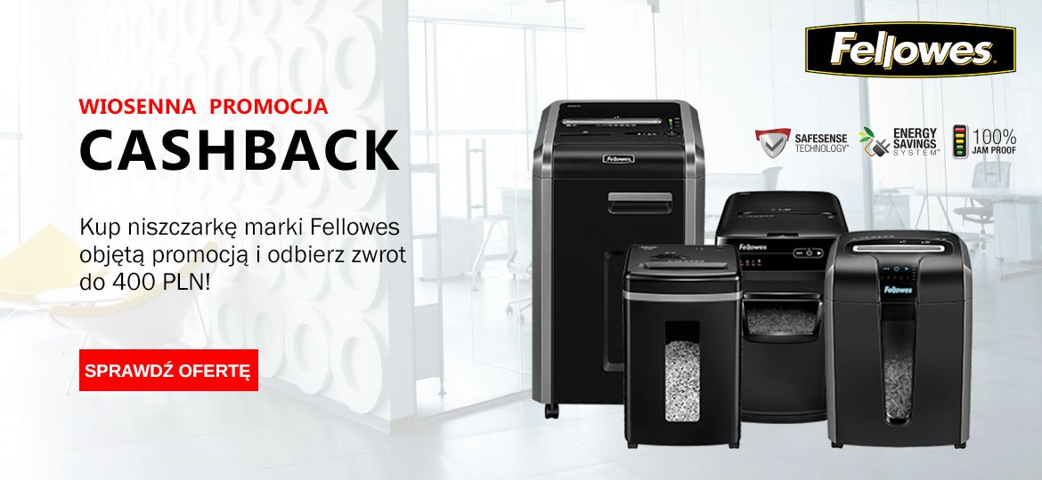 Fellowes Cashback 2018